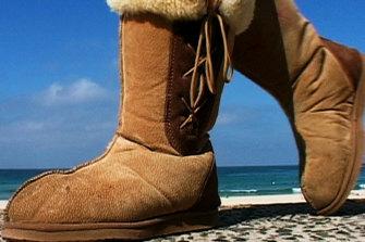 Australian icon, the ugg boot.