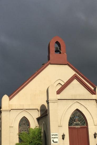 The church in Gipps Street, Bega.