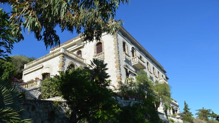 Villa Voronoff today, Grimaldi, Italy.