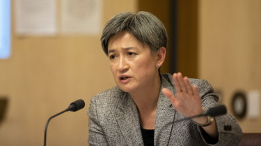 Labor foreign affairs spokeswoman Penny Wong accused federal officials of hiding information the public should know.