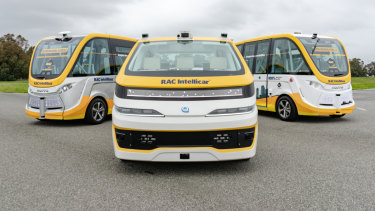 The RAC Intellicar is the company's third driverless vehicle.