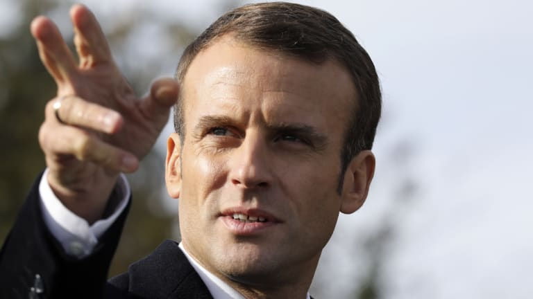Emmanuel Macron, France's President, was the target of an alleged far-right terror plot.