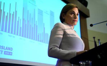 Queensland Treasurer Jackie Trad outlines her first Queensland budget.