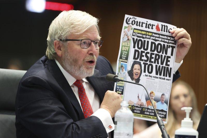 Media bargaining code will entrench Murdoch empire's dominance: Rudd