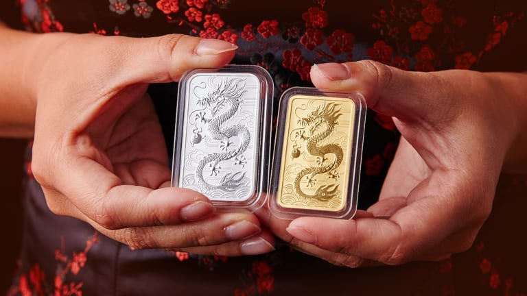 "Perth Mint launched ""dragon stamped"" bullion at Berlin's 2018 World Money Fair."