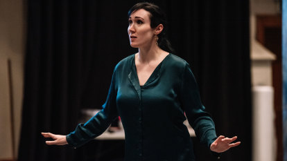 Why don't we see more pregnant performers? This soprano hopes we will