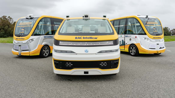 They're here: Australia's first driverless vehicle unveiled