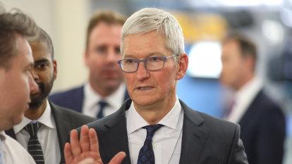 Apple's Tim Cook tells shareholders coronavirus is a 'challenge'