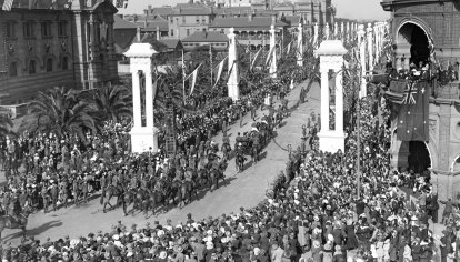 From the Archives: Peace Day celebrations mark the end of the war