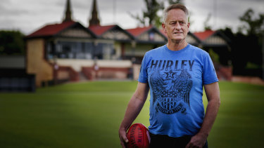 Martyn Bain has pledged his brain to be studied for CTE after he suffered dozens of concussion playing country football.
