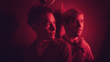 Olly Alexander as Ritchie Tozer and Callum Scott Howells as Colin Morris-Jones in It's a Sin.