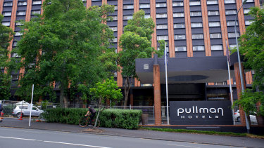 The Pullman Hotel in Auckland is the centre of the latest outbreak in New Zealand.