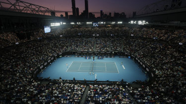 The Australian Open is set to be held from February 8-21.