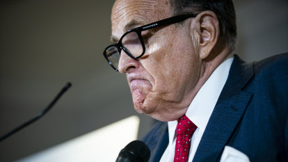 Prominent US lawyers' group wants Giuliani's licence suspended