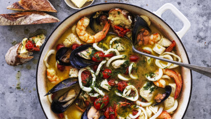 See out summer with Neil Perry's super seafood stew