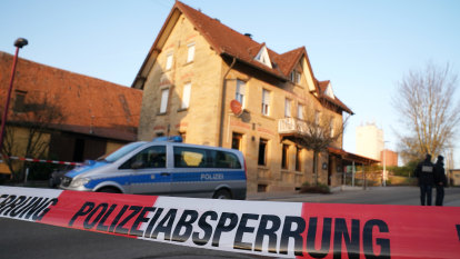 Man, 26, shoots parents and family in German pub: police