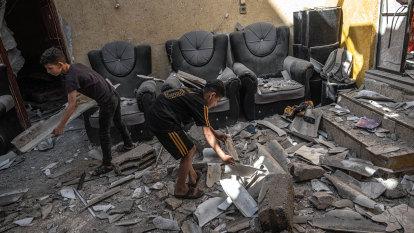 Israel and Hamas Gaza truce begins