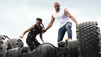 There's a hint of melancholy as Fast & Furious nears its end