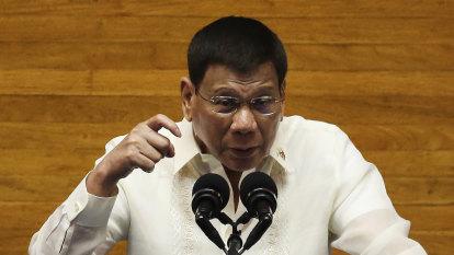'Making a sacrifice': Duterte to run for vice-president