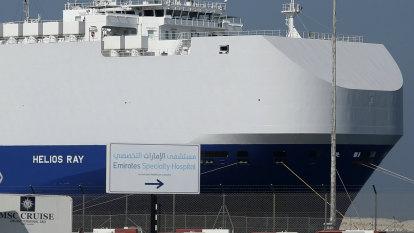 Netanyahu says Iran 'clearly' behind blast on Israeli-owned cargo ship