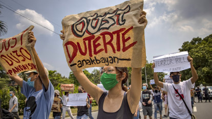 Local poets protest Duterte regime's anti-terror laws