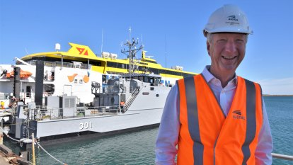 New captain picked for Perth shipbuilder after CEO moves to disembark