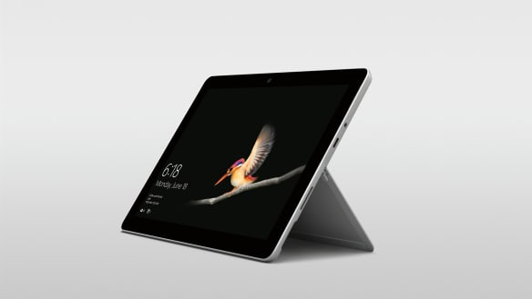 Microsoft challenges iPad with $599 Surface Go tablet