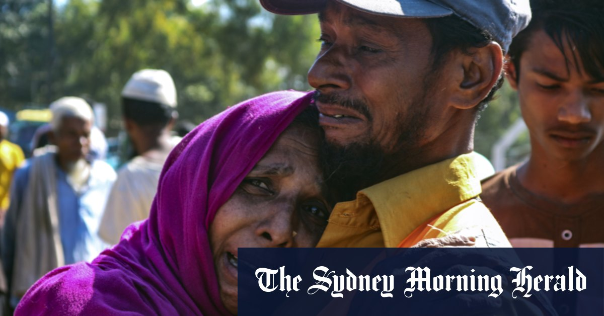 'They have taken us forcefully': Rohingya sent to uninhabited island – Sydney Morning Herald