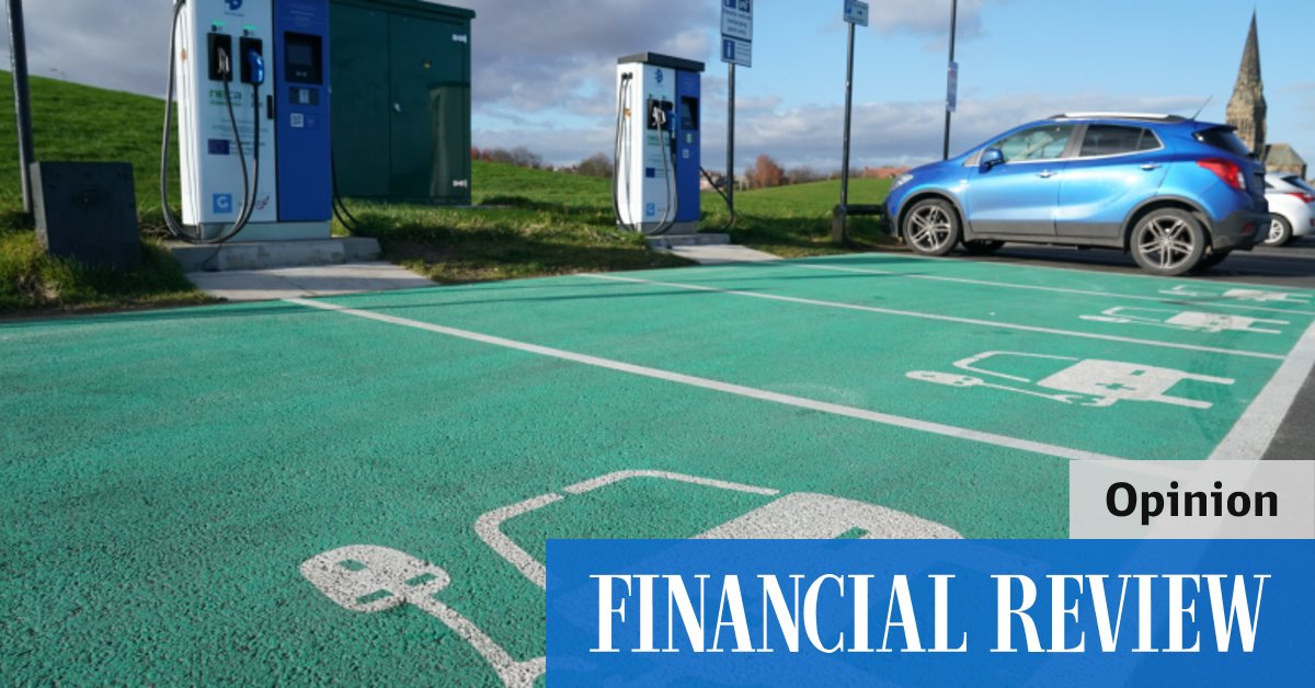 afr.com - Paul Burke, Frank Jotzo - In the slow lane for electric cars
