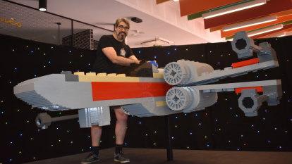 Biggest Lego X-Wing in Australia lands at Dreamworld