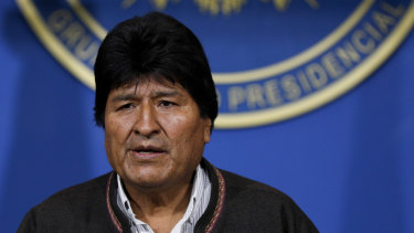 Evo Morales' resignation followed that of several socialist ministers and lawmakers as tensions in South America's poorest nation soared.