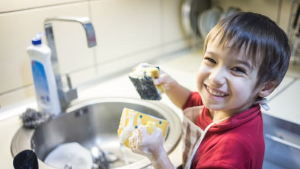 Why you shouldn't bribe your kids to do household chores