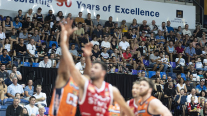 Bumper Canberra crowds give basketball a bright future