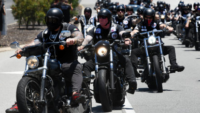 Five Rebels evicted from Crown venue on otherwise incident-free night following bikie boss' funeral