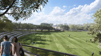 Inner west sporting clubs jostle for slice of new WestConnex park