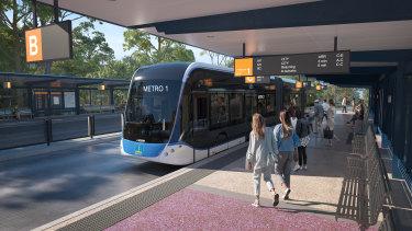 Brisbane City Council has confirmed it still plans to push the Brisbane Metro to Brisbane Airport.