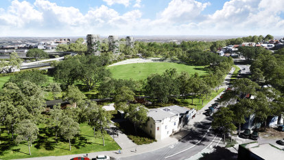 Sydney's newest inner city park to feature much-needed sporting fields