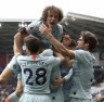 Own goal gifts Liverpool win over Spurs, Chelsea stage late comeback