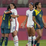 Matildas advance to knockout stages with scoreless draw against US