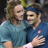 Roger Federer beaten by Stefanos Tsitsipas in upset result