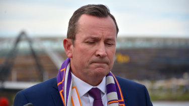 West Australian Premier Mark McGowan. Like Victoria, his government seems intent on developing its own state-based climate strategy.