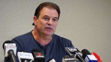 Fighting on: CFMMEU Victorian secretary John Setka has launched an appeal against a Supreme Court decision.