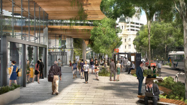 Dexus will start submitting development applications to council next year.