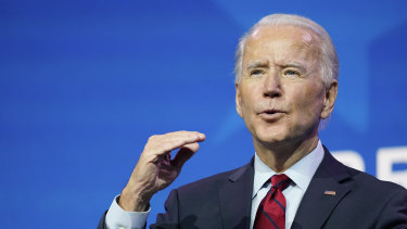 President-elect Joe Biden lays out the the prospect of mass vaccination.