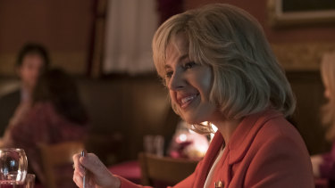 Sienna Miller as Beth Tilson, Ailes' thrid wife (and a former subordinate at CNBC).
