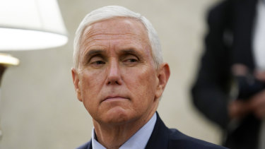 A member of Vice-President Mike Pence's staff has tested positive for COVID-19.