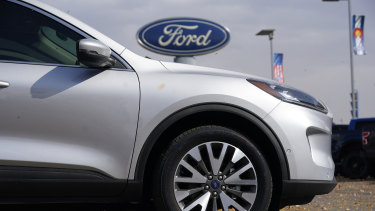 A widening global shortage of semiconductors is forcing carmakers like Ford to halt or slow production just as they were recovering from pandemic-related factory shutdowns.