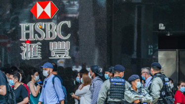 HSBC has faced direct criticism for its activities in China from US secretary of state Mike Pompeo, including the executives publicly backing the oppression of Hong Kong.