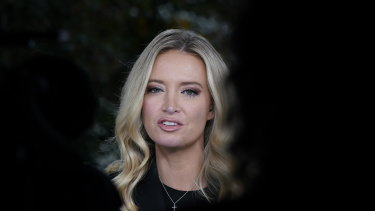 White House press secretary Kayleigh McEnany has tested positive to COVID-19.