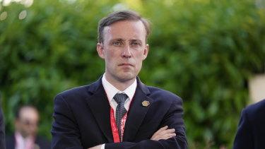 National security adviser Jake Sullivan.